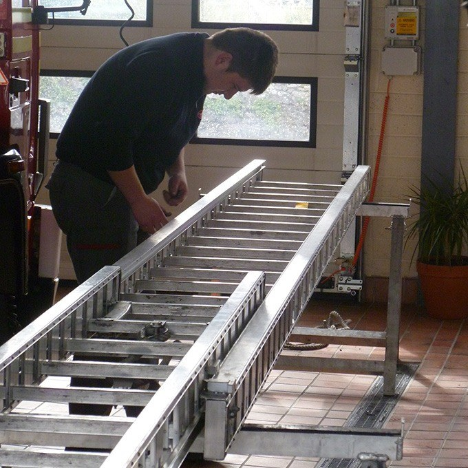 JUST and AS Ladder and Gantry Examination, Testing, Repairs and Certification Services