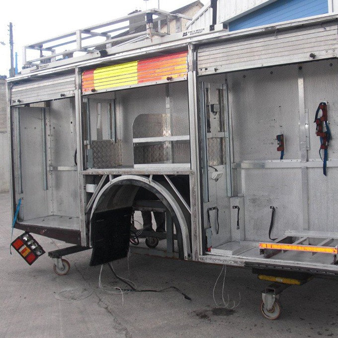 Equipment to be refurbished